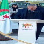 توزيع 36 حافلة مدرسية لفائدة 36 بلدية و الحفل كان من تنشيط السيد حسين همال مدير ديوان مؤسسات الشباب لولايةالبويرة